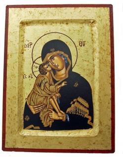 Ikone Madonna 22 x 17 cm Griechenland