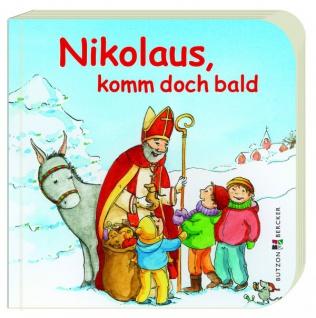 Nikolaus, komm doch bald, Geschenkbuch für Kinder