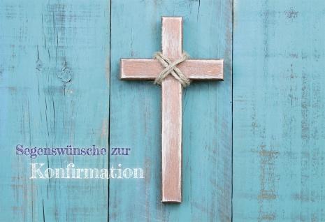 Konfirmationskarte Psalm Segenswünsche Konfirmation (6 Stck) Bibelwort Petrus