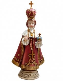 Heiligenfigur Prager Jesukind handbemalt 30 cm