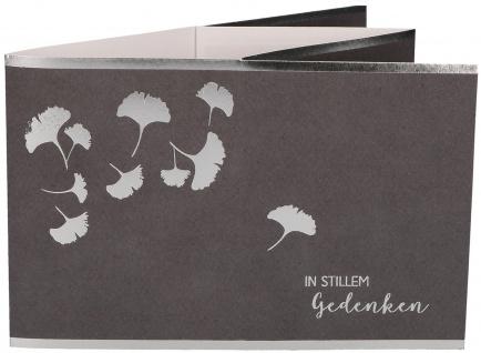 Trauerkarte Teelichtkarte Dietrich Bonhoeffer In stillem Gedenken (5 Stück)