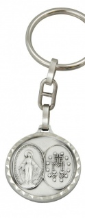 Schlüsselanhänger Wunderbare Wundertätige Medaille 8 cm Christlich