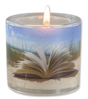 Glaswindlicht Innehalten 6, 5 cm (Voltaire) Teelicht Kerzenhalter