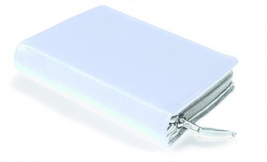 Gotteslobhülle Rindleder Weiß Gesangbuch Einband Katholisch