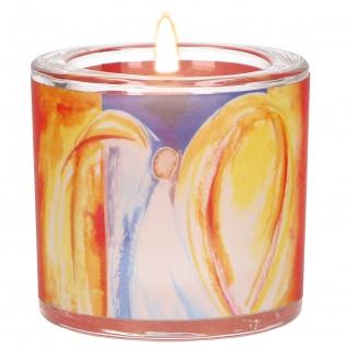 Glaswindlicht Weihnacht Teelicht Kerzenhalter Geschenkbox Glas für Windlicht