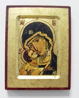 Ikone Madonna Vladimir 16 x 20 cm Griechenland