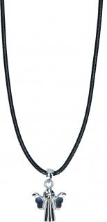 Engel Schmuckanhänger 1, 5 cm Metall Kautschukband 41 cm Geschenkverpackung