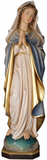 Marienfigur Immacolata Holzfigur geschnitzt Maria Südtirol