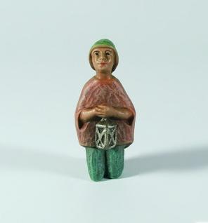 Gelenberg Krippe Junge kniend bunt bemalt 18 cm Krippen Figur Weihnachten