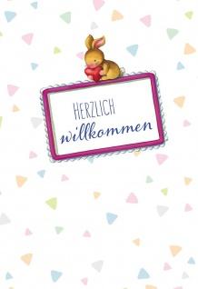 Glückwunschkarte Geburt Adalbert Ludwig Balling Segen Kuvert (6 Stück)
