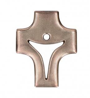 Kruzifix Schmuckkreuz durchbrochener Korpus Bronze 9, 5 cm Christliches Kreuz