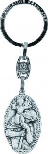 Schlüsselanhänger Christophorus 9, 5 x 2, 4 cm