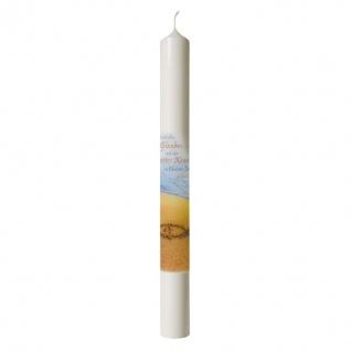 Taufkerze Durch den Glauben seid ihr Gottes Kinder... 40 cm Kerze für Taufe