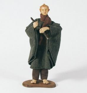 Krippenfigur Flötenspieler Heimatkrippe 30 cm Krippen Figur Weihnachten