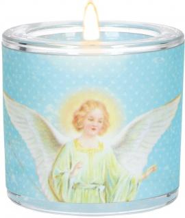 Glaswindlicht Wen der Himmel liebt Teelicht Kerzenhalter Glas für Windlicht