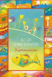 Geldgeschenk Karte Alles Gute Kommunion (6 Stck) Grußkarte Erstkommunion Kuvert
