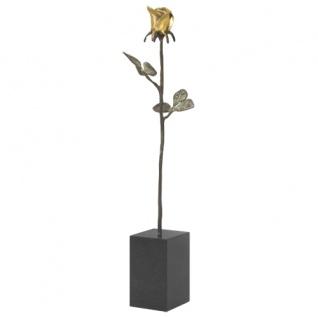 Skulptur Dank für ihren Einsatz bronziert vergoldet 13 cm Mitarbeitergeschenke - Vorschau 2