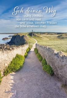 Grußkarte Irischer Segenswunsch Weg 6 St Kuvert Ruhe Frieden Zielstrebigkeit