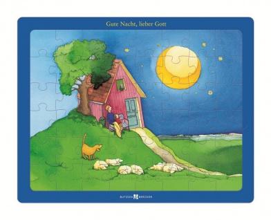 Puzzle Gute Nacht, lieber Gott, 48 Teile Christliche Bücher