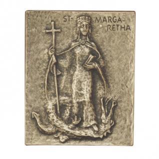 Namenstag Margarethe Bronzeplakette 13 x 10 cm