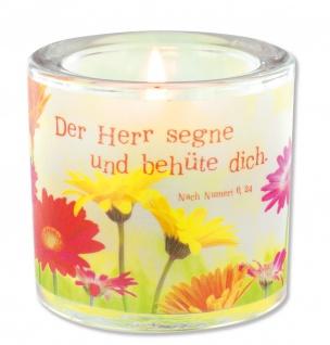 Glaswindlicht Der Herr Teelicht Kerzenhalter Geschenkbox Glas für Windlicht