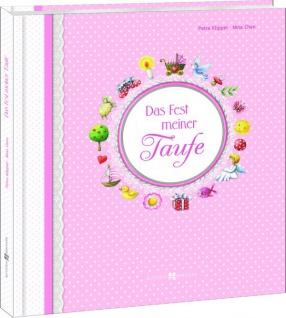 Hochwertiges Album für Mädchen Das Fest meiner Taufe