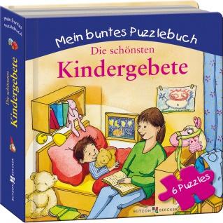 Die schönsten Kindergebete, Bilderbuch mit Puzzle Christliche Bücher