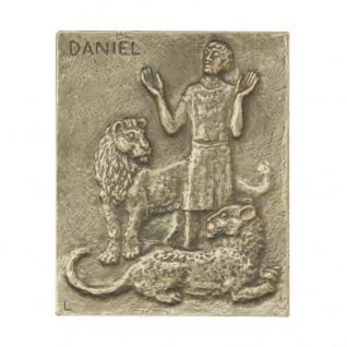 Namenstag Daniel Bronzeplakette 13 x 10 cm Namenspatron