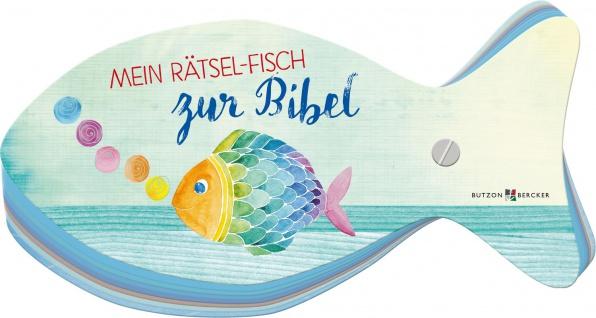 Mein Rätsel Fisch zur Bibel Geschenkbuch Marquardt Quizfragen