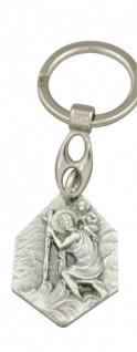 Schlüsselanhänger Christopherus Lourdes 9, 5 cm Christopherus Anhänger