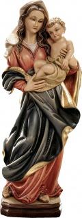 Mutter Gottes der Güte Marienstatue Holz geschnitzt bemalt Südtirol Schnitzkunst