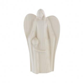 Engelfigur Engel der Geborgenheit Ahorn 11 cm Holz Figur