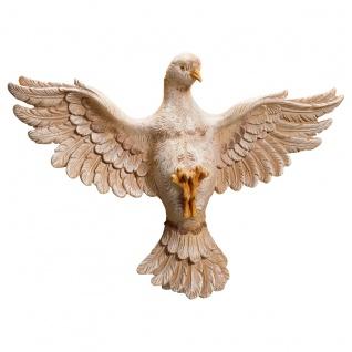 Heiliger Geist Taube Holzfigur geschnitzt Südtirol Heiligenfigur