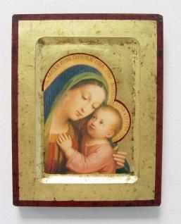 Ikone Madonna 16 x 20 cm Griechenland