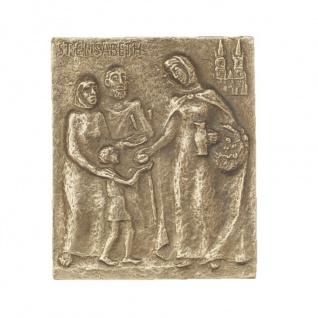 Namenstag Elisabeth Alice Ilse Bronzeplakette 13x10 cm