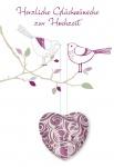 Hochzeitskarte Glas Herz-Magnet Herzliche Glückwünsche (3 St) Glückwunschkarte