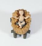 Krippenfigur Barren Mesner-Krippe Holz geschnitzt Krippen Figur Weihnachten