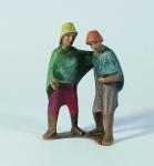 Gelenberg Krippe Hirtenpaar bunt handbemalt 18 cm Krippen Figur Weihnachten