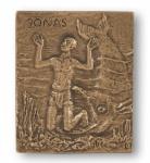 Namenstag Jonas Bronzeplakette 13 x 10 cm Namenspatron