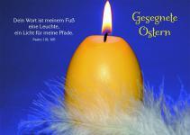 Osterkarte Gesegnete Ostern Psalm 119 (10 Stck)