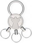 Schlüsselanhänger Engel mit 3 abnehmbaren Ringen Schutzengel Geschenk