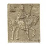 Namenstag Ulrich Ulrike Uwe Bronzeplakette 13 x 10 cm