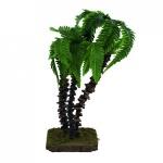 Palme 3 teilig 21 cm Holz handgefertigt Zubehör für Weihnachtskrippe