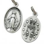 Wunderbare Wundertätige Medaille silberfarben 1, 9 cm