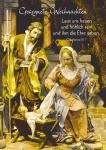 Postkarte Gesegnete Weihnachten (10 St) Heilige Familie Grußkarte Bibelwort