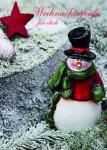 Weihnachtskarte Weihnachtsgrüße für dich (10 Stck) Postkarten Adressfeld