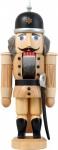Nussknacker Soldat natur 27 cm Holz-Figur Handarbeit aus Seiffen im Erzgebirge