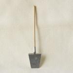 Spaten groß handgefertigt Holz 15 cm Zubehör für Weihnachtskrippe