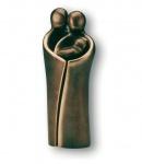 La Casata Bronzeskulptur 17 cm patiniert Bronze Figur