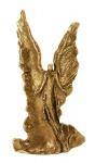 Bronzeengel Dynamis Engel der Kraft, 16 cm Bronze, Geschenkbox
